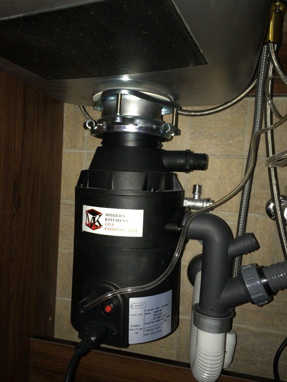نصب دستگاه زباله خرد کن خانگی