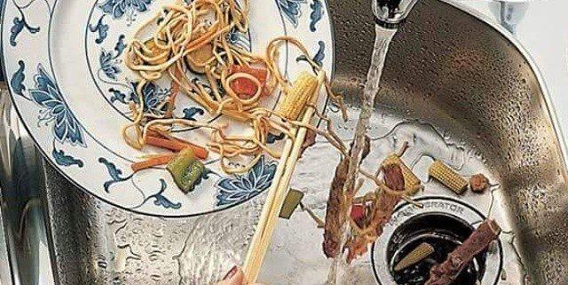 دفع پسماند غذا با زباله خرد کن خانگی