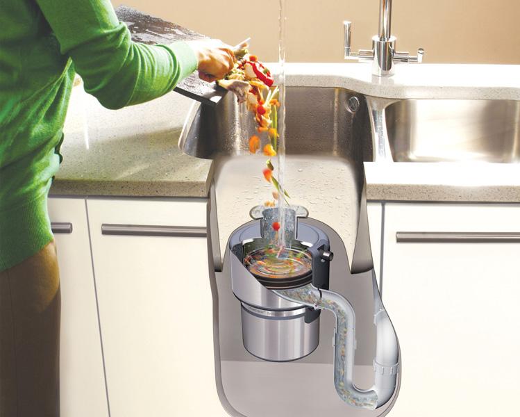 دلایل استفاده از دستگاه زباله خرد کن