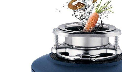 دفع پسماند غذا با زباله خرد کن خانگی زباله خرد کن ظرفشویی